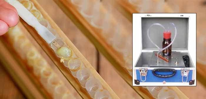 Охлаждающие оборудования для сбора маточного молочка