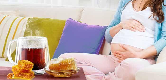 Чай с добавлением меда во время беременности