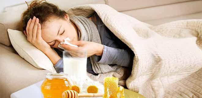 Прополис с молоком при простуде