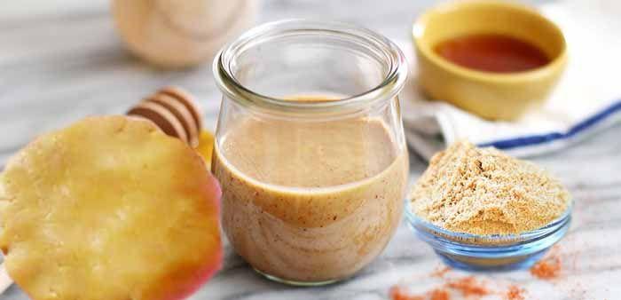 Лепешки с горчичным порошком и медом