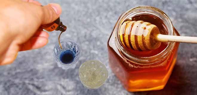 Проверка меда йодом