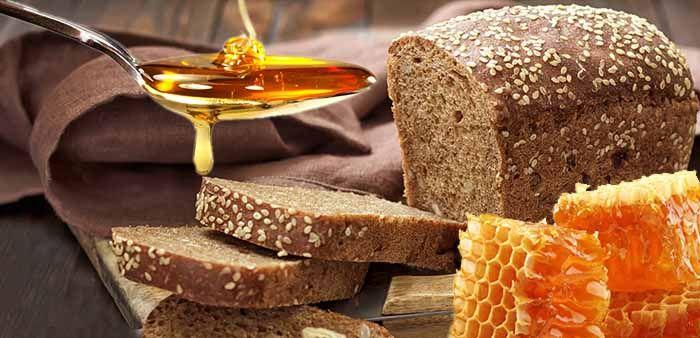 Мёд и черный хлеб