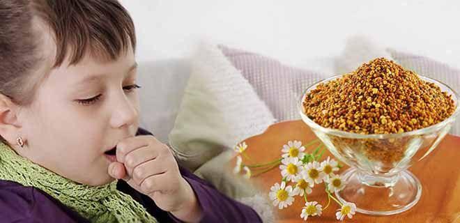 Перга детям при кашле