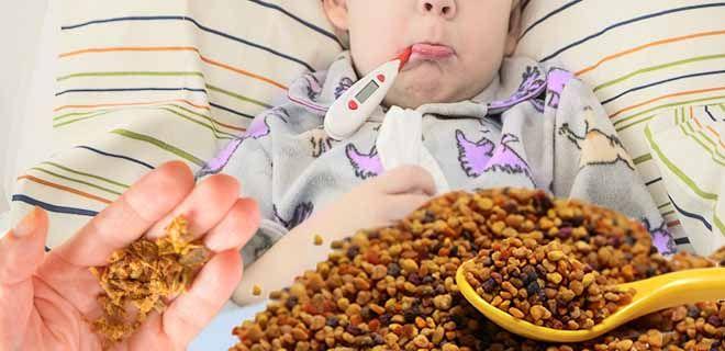 Прополис для детей при гриппе