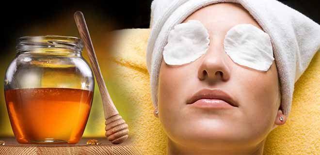Компресс с медом для глаз