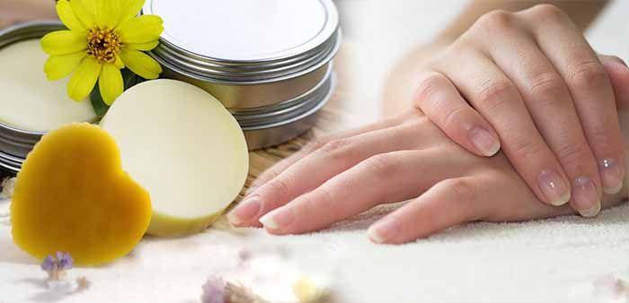 Крем из пчелиного воска для ногтей