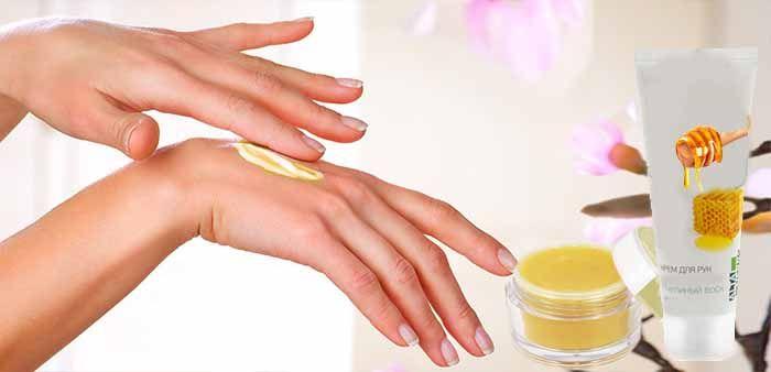 Крем из пчелиного воска для рук