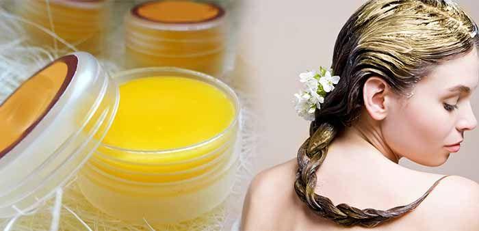 Крем из пчелиного воска для волос