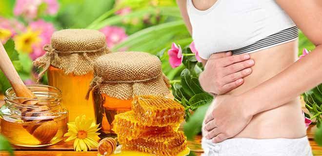 Пчелиный продукт при пониженной кислотности желудка