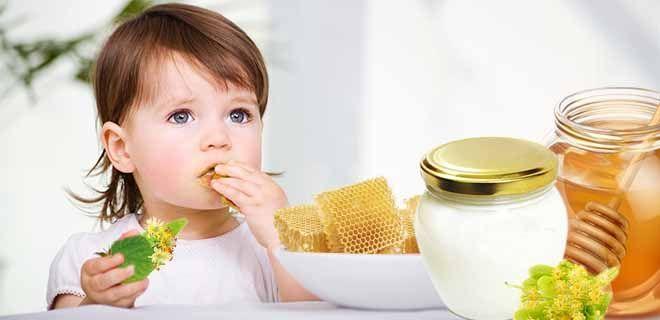 Липовый мед для детей