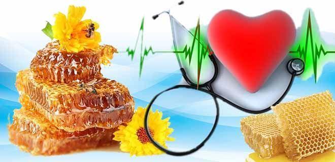 Мёд в сотах при болезнях сердца, сосудов
