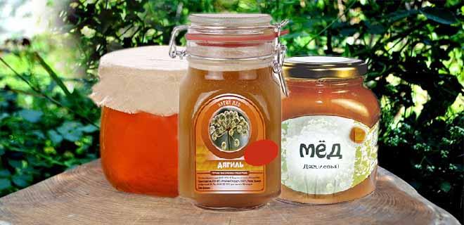 Дягилевый мёд
