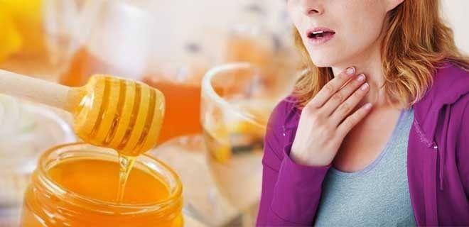 Нектар при боли в горле