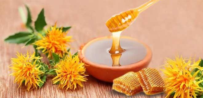 Мед сафлоровый