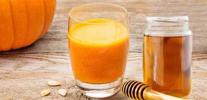 Тыквенный сок с медом