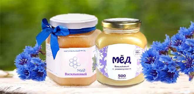 Васильковый мед