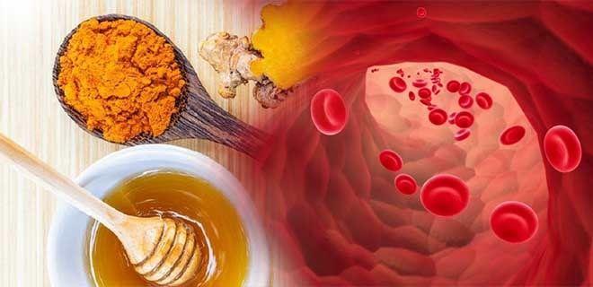 Куркума с медом при анемии