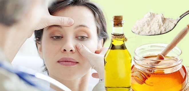 Сода мед и масло при гайморите