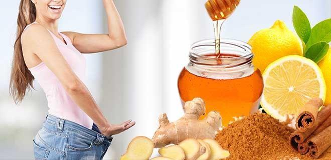 Имбирь мед корица и лимон