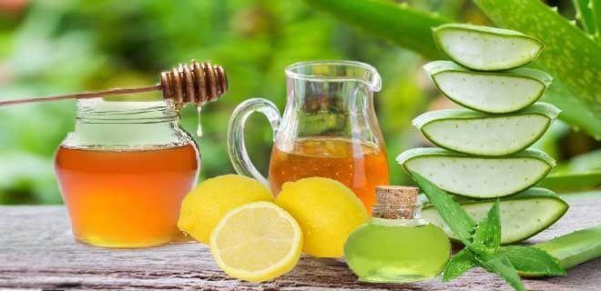 Алоэ с медом и лимоном