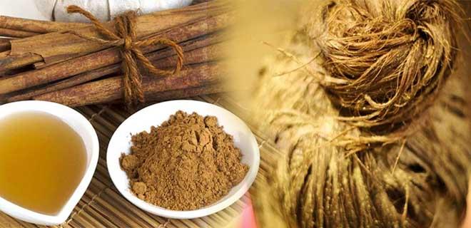 Медовая маска с корицей для укрепления и роста волос