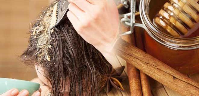 Маска с корицей и медом для осветления волос