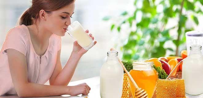 Польза молочно-медового напитка