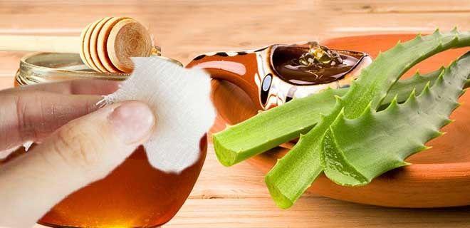 Тампоны с медом и алоэ