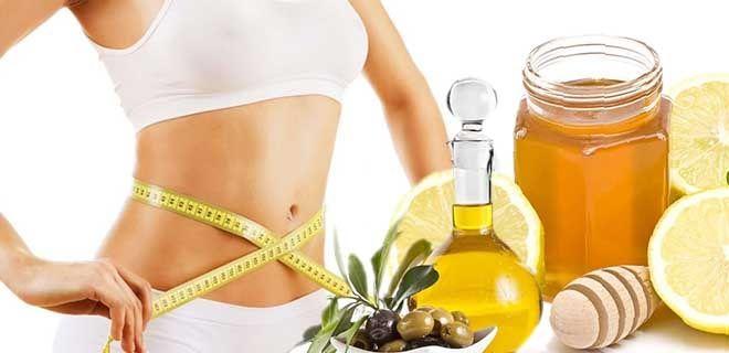 Мед, лимон, оливковое масло для похудения
