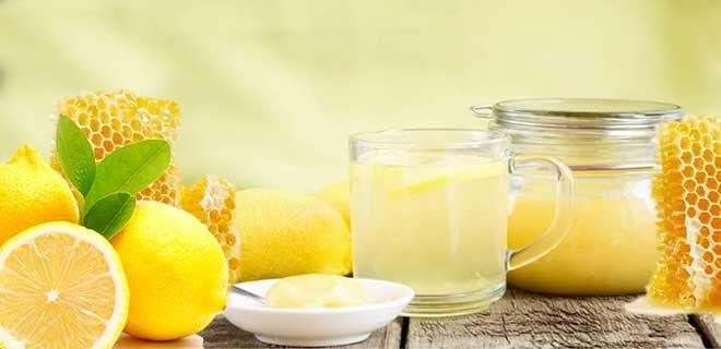 Вода с лимоном и медом по утрам