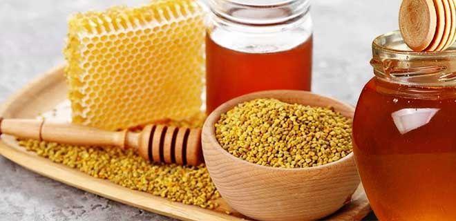 Мед и пчелиная пыльца