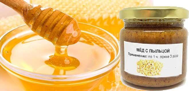 Пыльца с медом